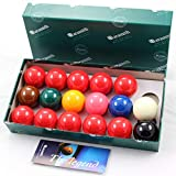 Aramith 47.6mm Premier Snooker Balls - 10 Red - 17 palle ...