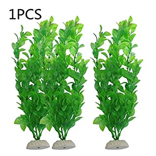 Plastic Aquarium Plants for Fish Tank Decorations Vivid Simulation Plant Aquarium Landscape Artificial Aquatic Plants Ornament for Home Office Fish Tank by TheBigThumb