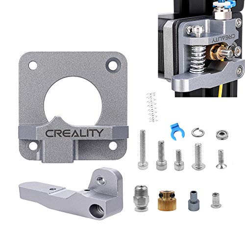 Tresbro Extrusora de Metal MK8, Piezas de Impresora 3D de Actualización Extrusora Bowden de Bloque de Aleación de Aluminio para Ender 3, CR-7, CR-8, CR-10, CR-10S, CR-10 S4 y CR-10 S5