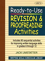 Ready to Use Revision and Proofreading Activities: v. 5 (J-B Ed: Ready-to-Use Activities)
