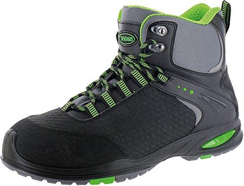 Chaussures de sécurité S3San Marino Power Messieurs (Chaussures de sécurité, Chaussures de sport, travail Chaussures de sécurité, capuchon de protection) Vert - Schwarz/Grün