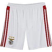 adidas SLB H SHO B - Pantalón corto para hombre, color blanco/rojo, talla M