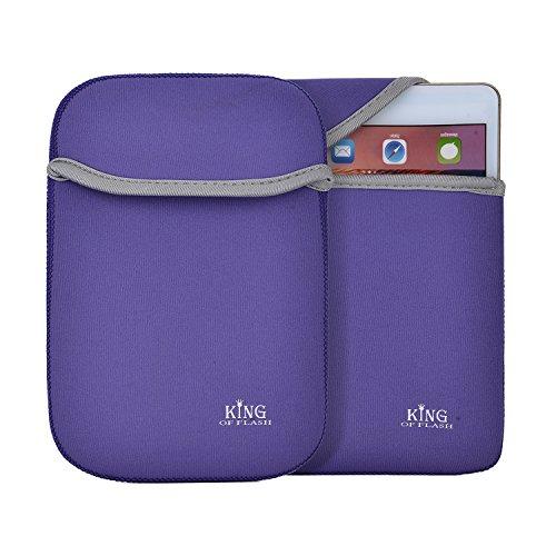 n-Schutzhülle für diverse Tablets, voll gepolstert, 17,8cm (7Zoll), Lila (Kindle Fire 7 4g)