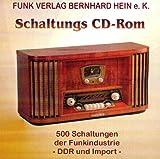 500 DDR-Schaltungen-CD: Radioschaltungen von Röhrengeräten, Transistor- und IS-Geräten, Kofferradios, Autoradios, Kassettentechnik und Phonoverstärker. + 37 Importkoffer-Geräte