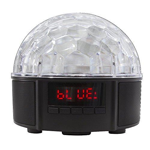 LogiLink Leuchtender Bluetooth Lautsprecher/Discokugel
