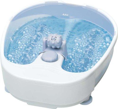 Fussmassagegerät mit Whirlpool Effekt Fußbad Fußreflexzonen-Massage Fuss Füsse 4-Stufen Fussmassage Sprudelbad (sparsame 90 Watt + Gerät: ca. B 300 x H 120 x T 380 mm)