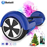 Watson Gyropode 6,5 Pouces Balance Boards Auto Equilibrage Smart Scooter Electrique HHHhoverboarrrd Self-Balancing, Bluetooth&LED, Modele ES01