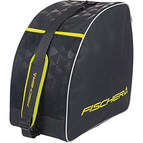 fischer Alpine Eco - Bolsa para Botas de esquí, Color Negro/Amarillo, tamaño -