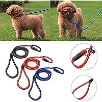 Bazaar 1cm Durchmesser Nylon rutschfeste Fuß-Seil Gurt-Blei Haustier Training des Hundes von Arbeit Weich starke
