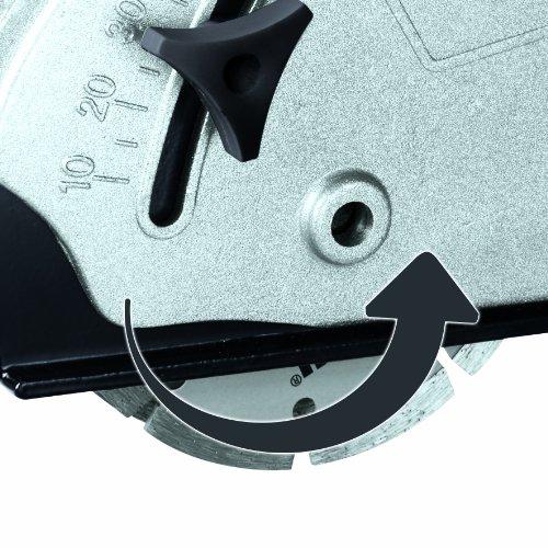 Einhell Mauernutfräse TH-MA 1300 (1320 W, Ø125 mm, Nutttiefe 30 mm, Nutbreite 26 mm, Softstart, Absaugadapter, 2 Diamant-Trennscheiben, Koffer) - 5