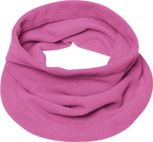 Playshoes Jungen Fleece-Schlauchschal softer Rundschal geeignet für kalte Tage, pink, one size