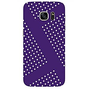White dot Design-Mobile Back Case Cover For Samsung Galaxy S7