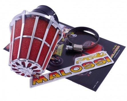 Preisvergleich Produktbild Luftfilter MALOSSI E5 30 Grad PHBH 20-25 Anschluss 38mm für YAMAHA Majesty DX 250 5GM 4T LC 00-01