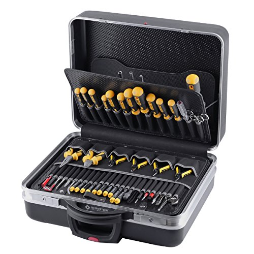 Bernstein Electronic Service-Koffer COMPACT MOBIL mit 63 Werkzeugen 7000