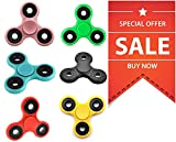 #1: COMBO PACK OF 6 Arvel Excusive Fidget Spinner Toy Stress Reducer FIDGET SPINNERS : GRAB THIS COMBO NOW- Limited Stock!!