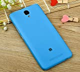 PREVOA ® 丨 Xiaomi Redmi NOTE 2 Funda - Original Batería Funda Reemplazo Cover Case Protictive Carcasa para Xiaomi Redmi NOTE 2 Smartphone 5,5 Pulgadas - (Azul)
