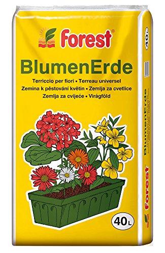 Blumenerde Forest 40 Liter NEU Qualitäts-Blumen- & Pflanzerde aus Bayern !