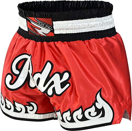 RDX Muay Thai Shorts Kampfsport Boxen Thaibox Hose Kickboxen Kurze Sporthose Trainingshorts,L
