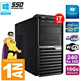 Acer PC Tower Veriton M4620G Core I7-2600 RAM 16 GB 240Go SSD DVD-Brenner Wifi W7