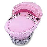 Izziwotnot Pink Gift Moses Basket