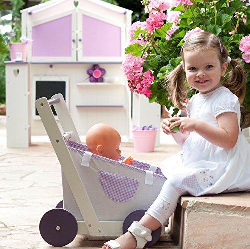 roba kaufladen 39 fienchen 39 kinder kaufmannsladen holz wei rosa verkaufsstand mit theke. Black Bedroom Furniture Sets. Home Design Ideas