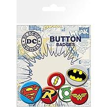 GB eye LTD, DC Comics, Logos, Pack de Chapas