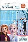 Disney Frozen 2 Wipe-Clean Children\'s Reward Charts with Stickers & Pen