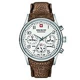 SWISS MILITARY-HANOWA Herren Analog Quarz Uhr mit Leder Armband 06-4278.04.001.05