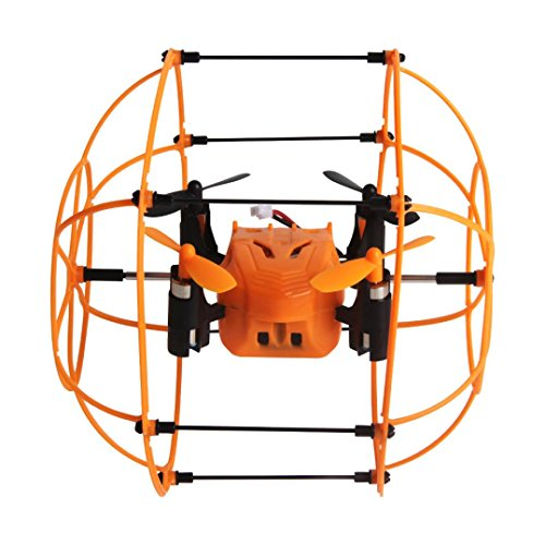 Lacaca Helic Max Sky Walker 2.4ghz 4CH RC Quadcopter 3D Flip Scalate Roller (Mini Roller Kit)