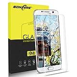 Protector de Pantalla para Samsung Galaxy S7 Edge,3D Full Coverage S7 Edge Cristal Templado,Sin Burbujas,Fácil de Instalar,Premium HD Vidrio Templado,1 Unidade