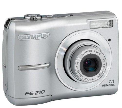 Olympus FE-210 Digitalkamera (7 Megapixel)