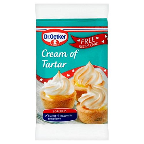 Dr. Oetker Creme der Tartar Sachets 6 x 5 g