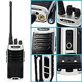 Retevis RT7 Walkie Talkie UHF Funkgerät CTCSS/Dcs Vox Tot Monitor FM-Radio 1000mAh Wiederaufladbar mit Headset Taschenlampe(5 Stk.) Vergleich