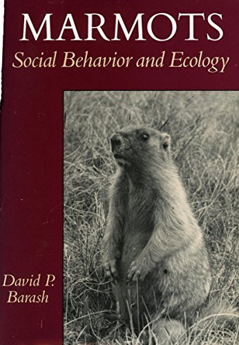 marmots-social-behavior-and-ecology-1st-edition-by-barash-david-1989-hardcover