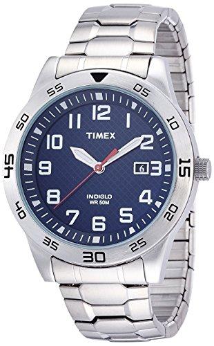 timex-classic-homme-tw2p61500-quartz-analogique-eclairage-bleu-argent-acier-inoxydable
