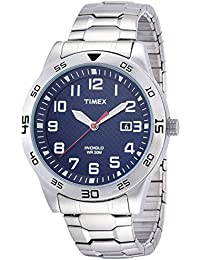 Timex Herren-Armbanduhr Analog Quarz Leder TW2P61500