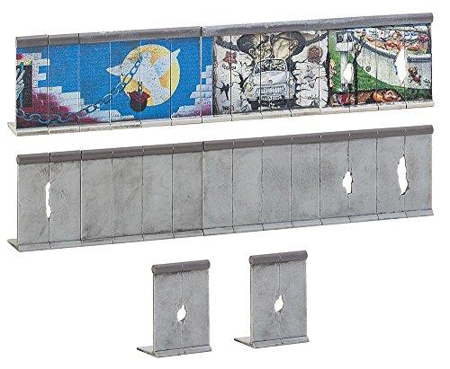 Preisvergleich Produktbild FALLER FA 180424 - Berliner Mauer, Zubehör für die Modelleisenbahn, Modellbau