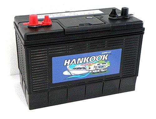 Hankook Lesiure 130Ah Batterie, Caravan / Bateaux / Marine /...
