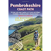 Pembrokeshire Coast Path  (Amroth to Cardigan): 96 Large-Scale Walking Maps & Guides to 47 Towns and Villages - Planning, Places to Stay, Places to ... Cardigan (Trailblazer British Walking Guide)