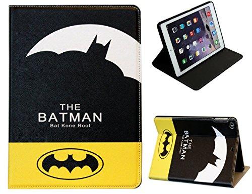 Para Apple iPad Air 2(iPad 6) Batman Arkham Knight función atril de Marvel Comics