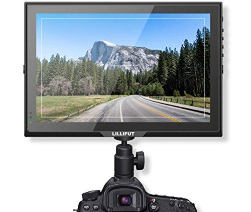 Lilliput FA1014 / S 10.1 Zoll-3G-SDI-DSLR HD-Monitor, 1280 × 800,3G-SDI / HDMI / VGA-Eingang, 3G-SDI-Ausgang, 800: 1 (Vga-hd-sdi)