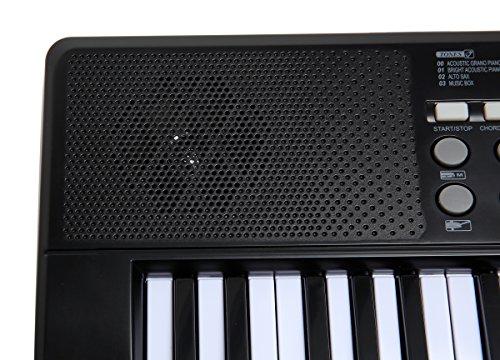 AXMAN T315853 Keyboard inkl. Mikrofon und Netzteilanschluß, 54 Tasten, batteriebetrieben 6 x AA (nicht im Lieferumfang enthalten) - 6