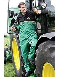 546fd733ef1 John Deere Adults Juniper Green Deluxe Overalls