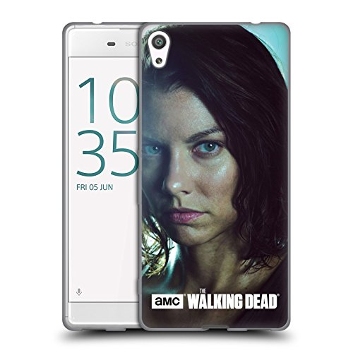 Ufficiale AMC The Walking Dead Maggie Caratteri Cover Morbida In Gel Per Sony Xperia XA Ultra / Dual