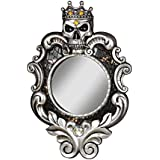 Design Toscano The Fairest One Of All Wall Mirror, Silver