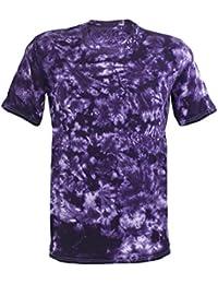 Tie Dye Purple Scrunch 701786 T-Shirt