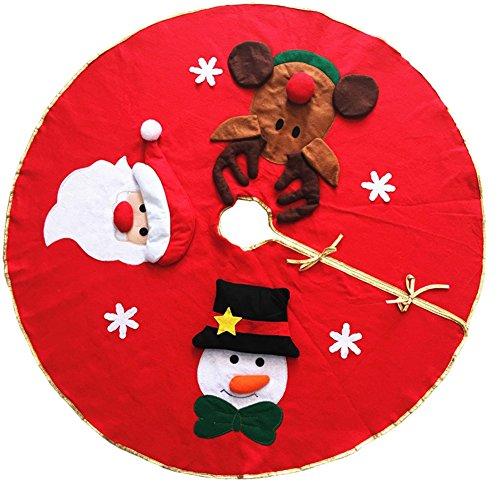 LeisialTM Falda Árbol Navidad Muñeco Nieve Papá