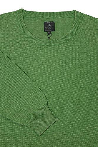 Kitaro Pullover Herren Langarm Plusgröße Übergröße Grün