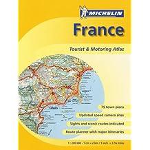 Michelin Atlas France: Tourist & Motoring Atlas