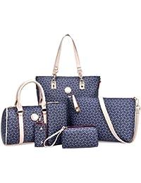 Tres es Últimos Amazon Meses Bolsos Leather Shoulder Bag xTXqwS68